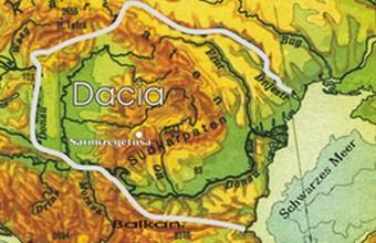 Dacia în anul 82 Î. Hr.
